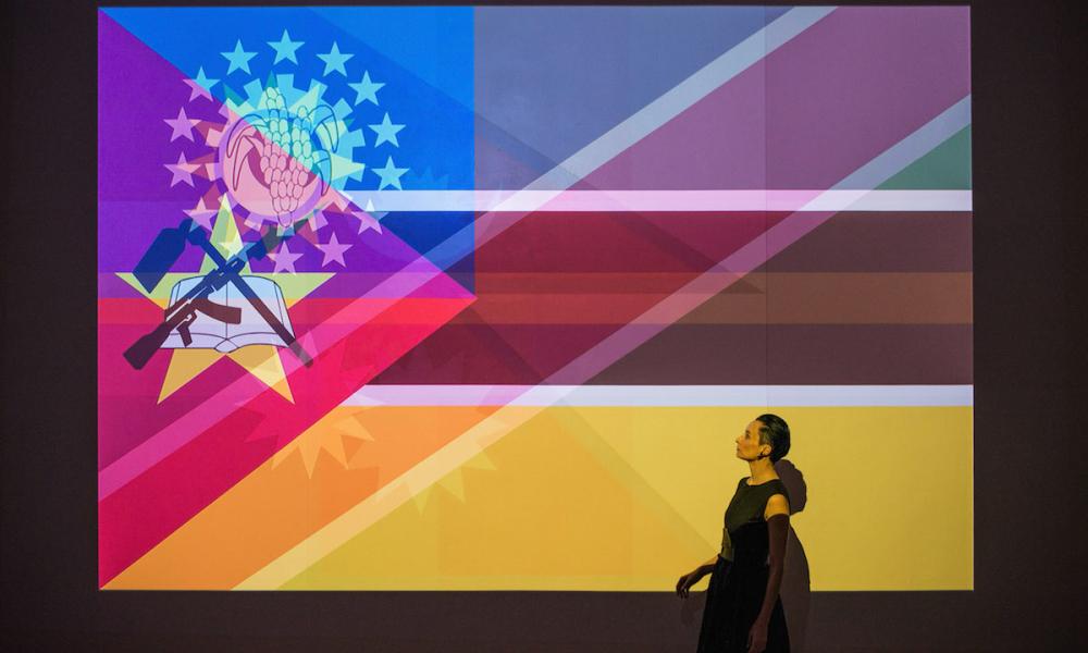 KIMSOOJA, TO BREATHE – THE FLAGS