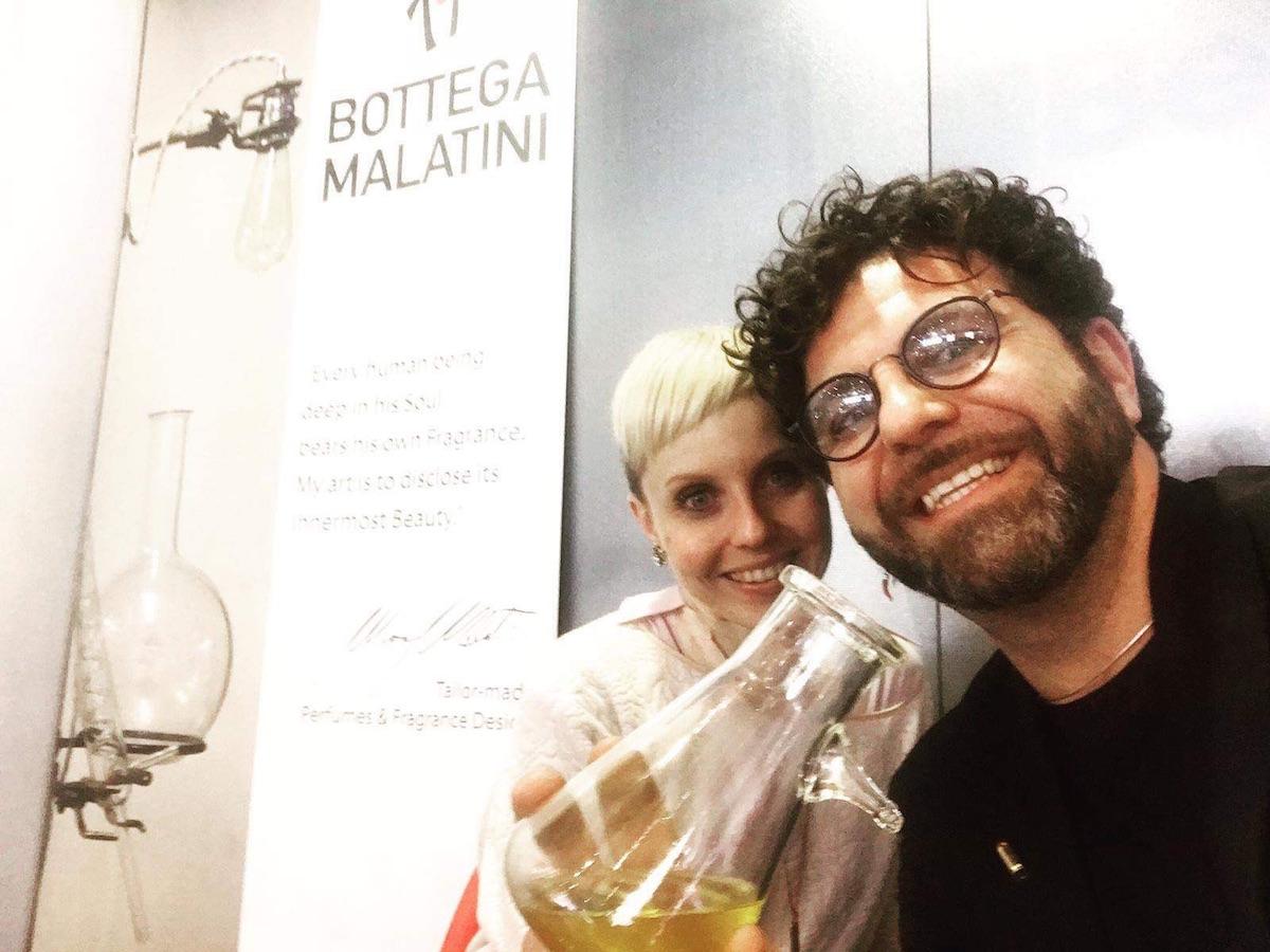 Silvia Scorcella e Mauro Malatini
