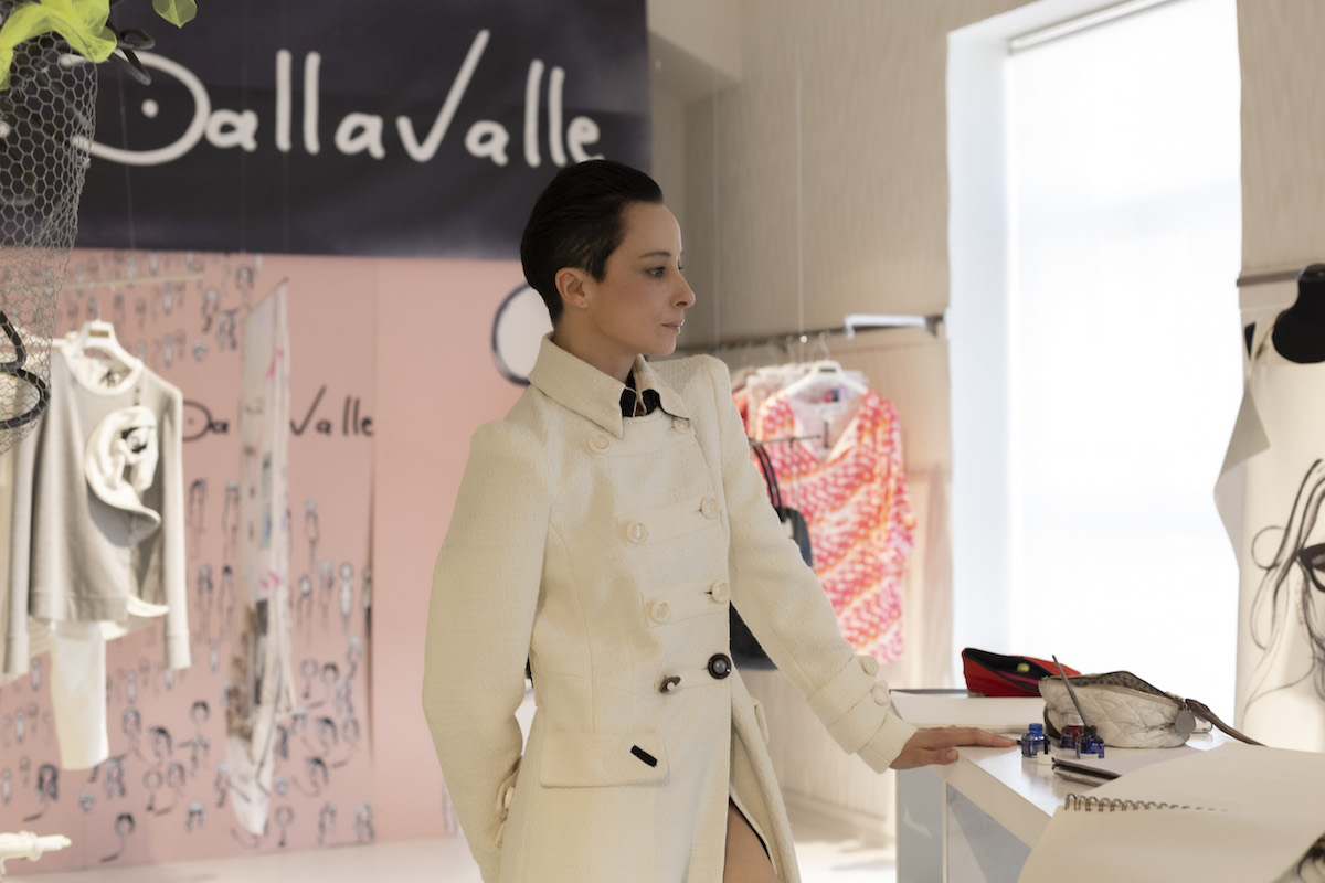 Daniela Dallavalle, press day, Milano via Tortona 9