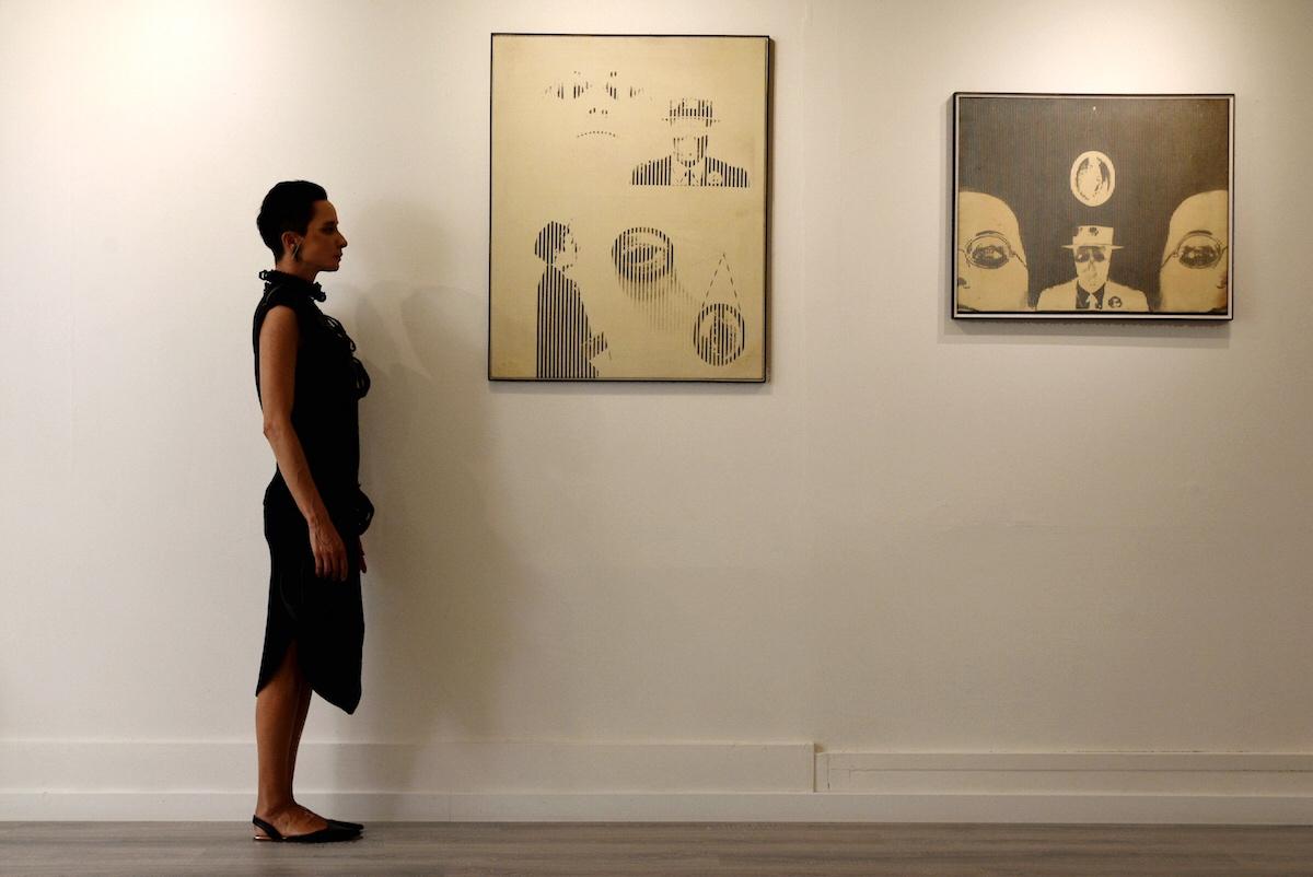 Aldo Tagliaferro, Verifica di un artista, Galleria VV8 Arte Contemporanea