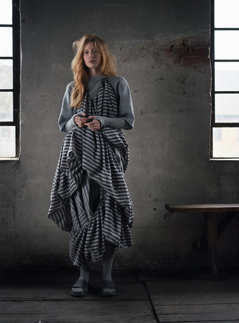 Cunnington & Sanderson - Photography by Rafael Kroetz - model Zoe Herveva at Tune Models - Hair & Makeup Sabine Nania.