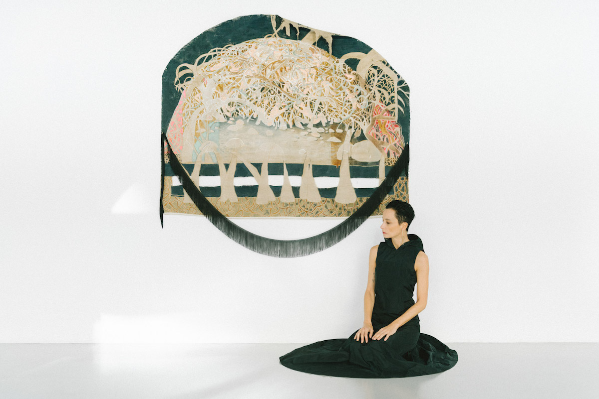Marlene Steyn, What the forest metabolise, 2015