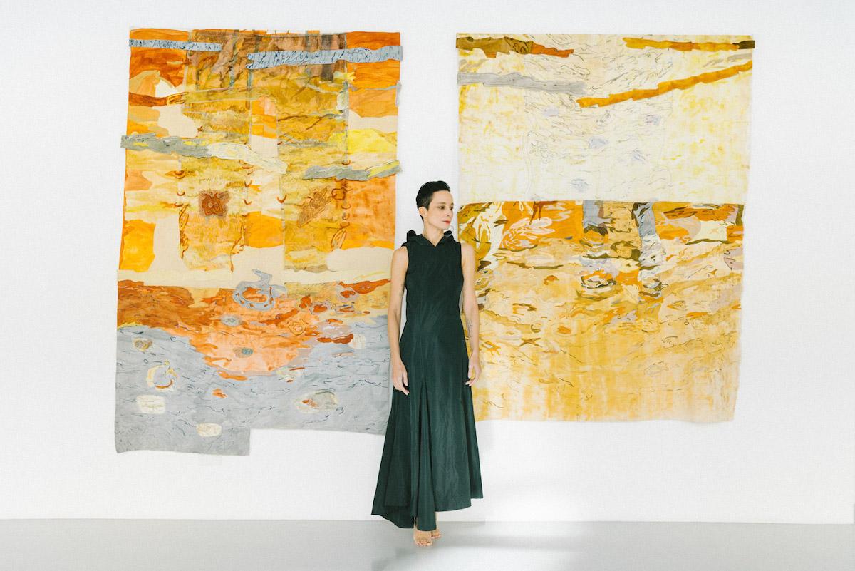 Jeanne Gaigher, The way through Fish  Fountain I & II, 2019