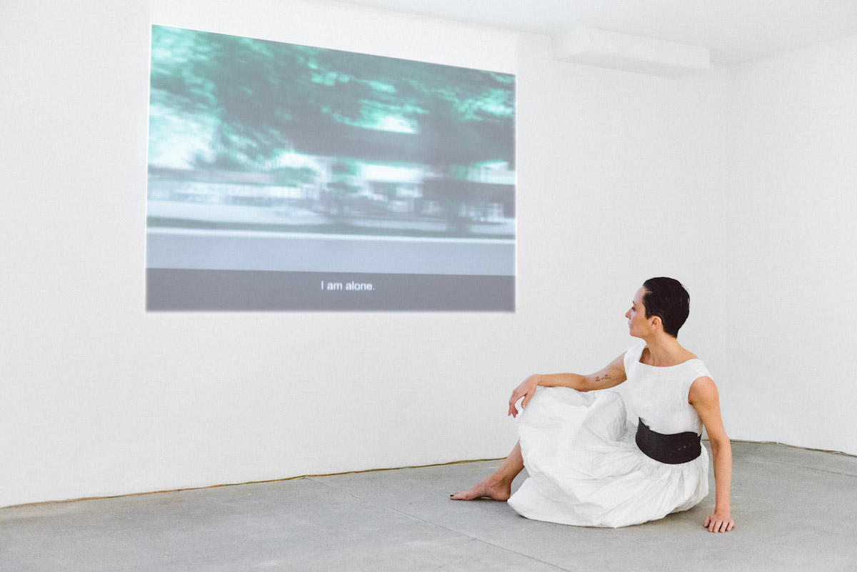 Galleria Raffaella Cortese, Anna Maria Maiolino, Aqui e Agora, Ph. Elisabetta Brian