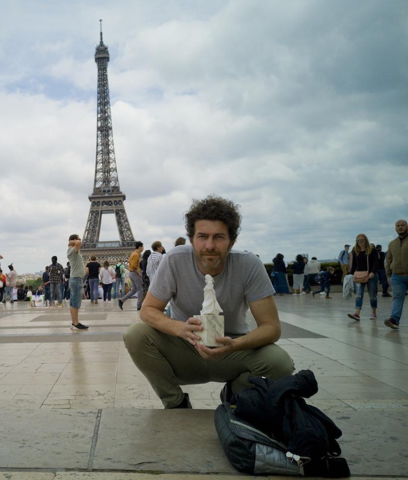 Fabio Bix, autoritratto, Parigi