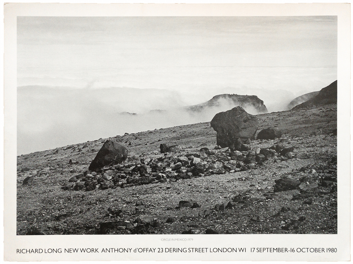 Richard Long | Anthony d'Offay, 1980