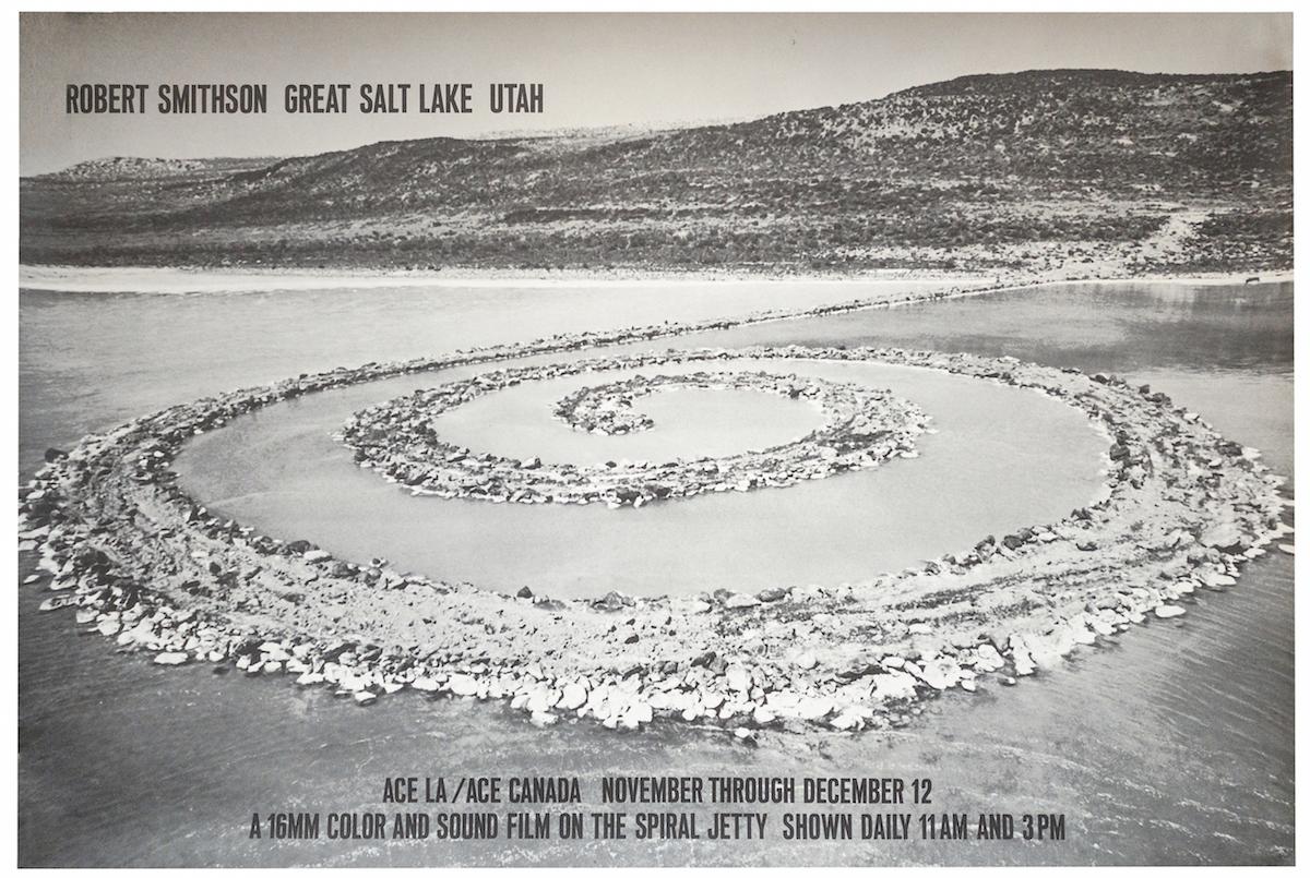 Robert Smithson | Great Salt Lake Utah, 1970