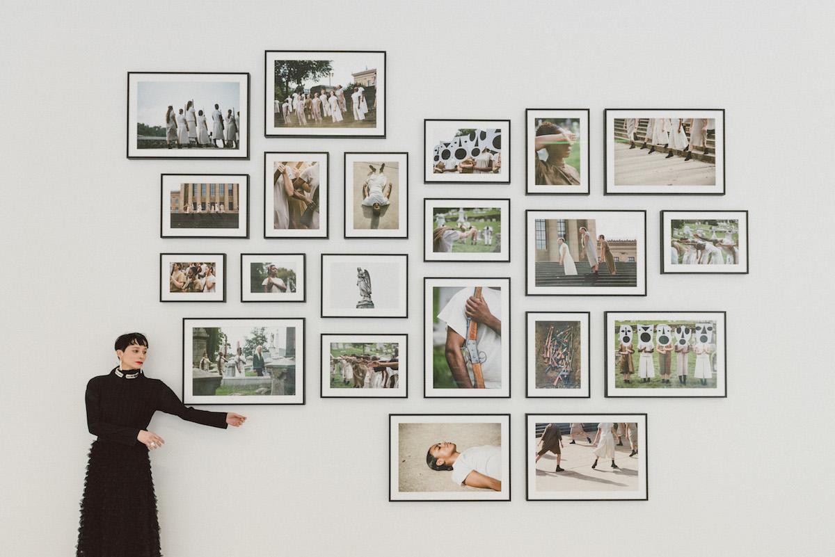 Yael Bartana, Patriarchy is History, galleria Raffaella Cortese, Ph. Elisabetta Brian