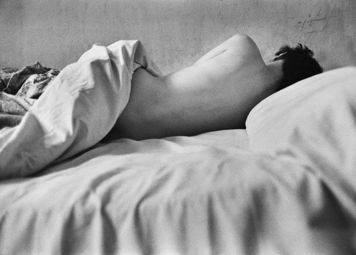 Renè Groebli #532 (Liegender Akt) Eye of Love, 1952, courtesy Podbielski Contemporary