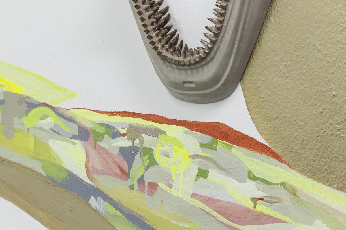 Gallleriapiù, Marco Ceroni, Slag, Exhibition view