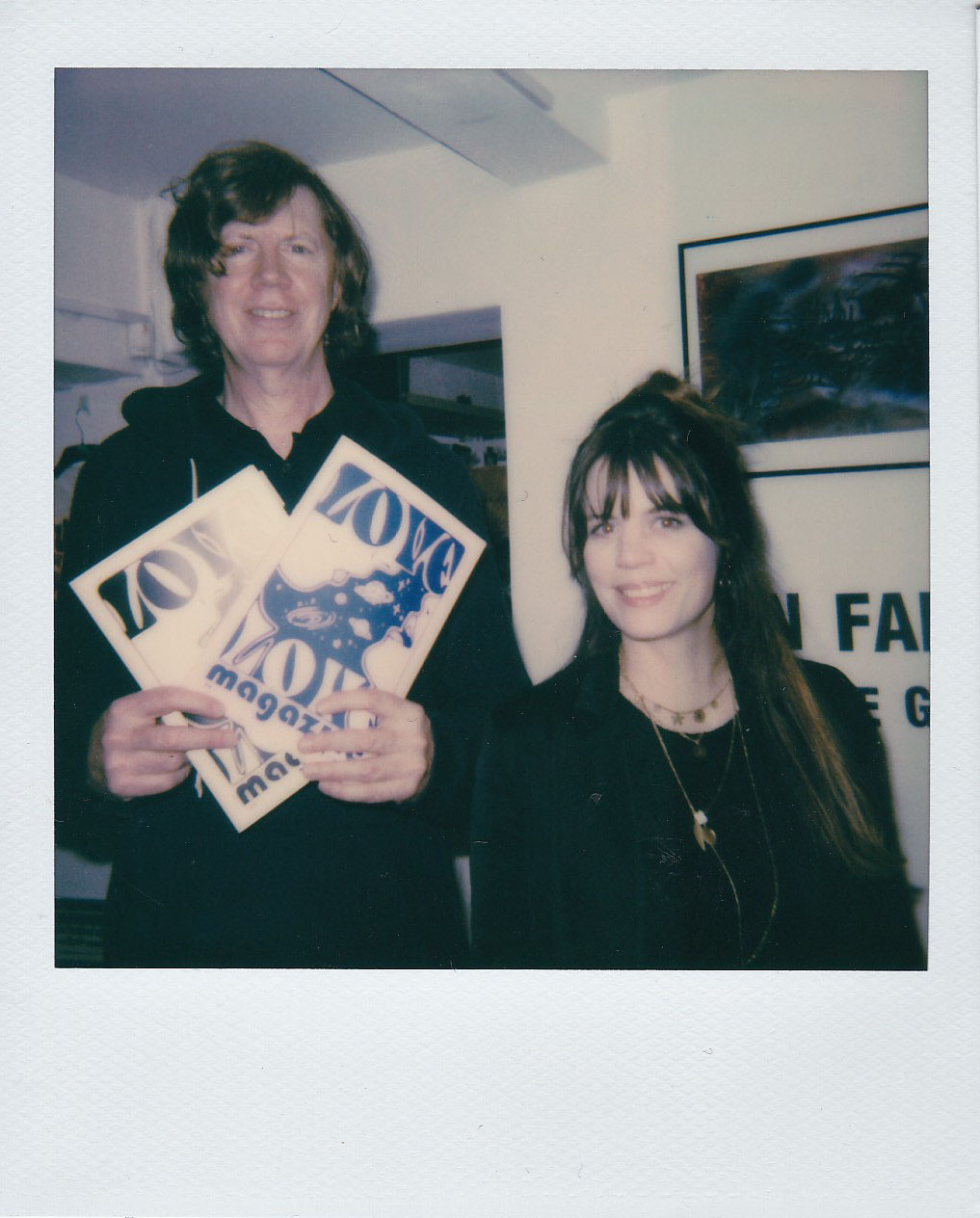 Thurston Moore & Lisa Marie, February 2020, London