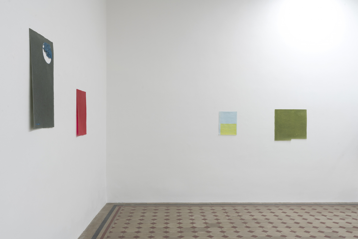 Allyson Strafella, viveka, 2021, Installation view at Galleria Raffaella Cortese, ph. Lorenzo Palmieri