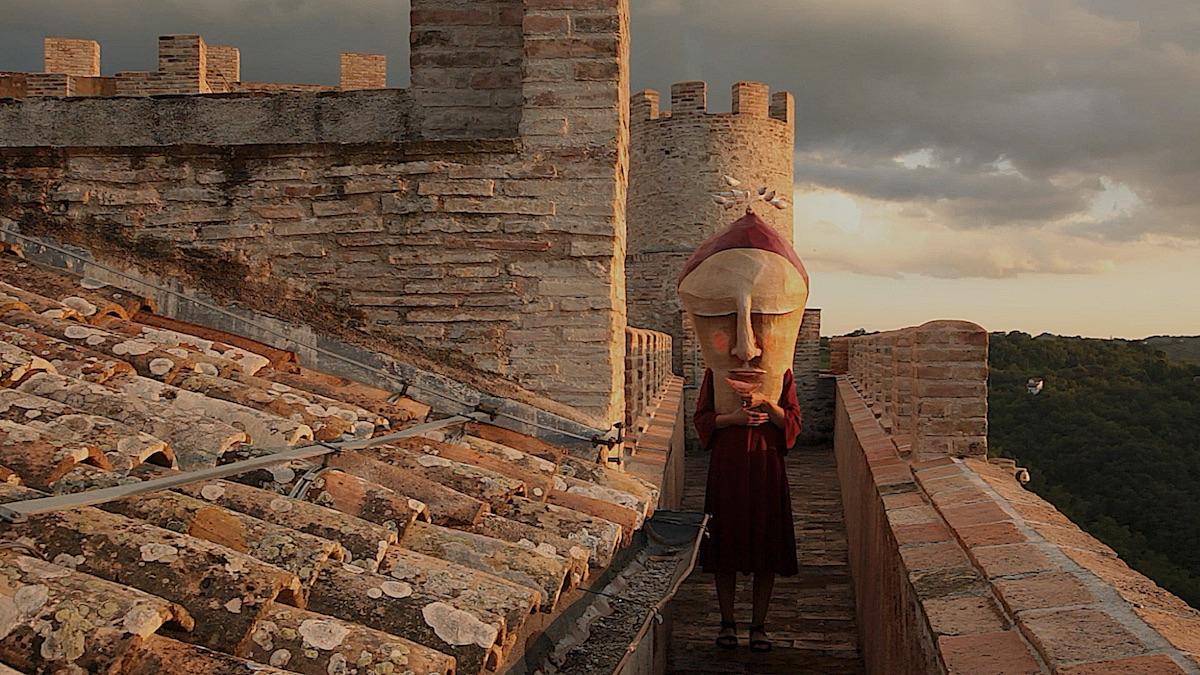 Endecameron 2018, ©Castello Rocca Sinibalda, Martapesta, The Mask of the Red Death