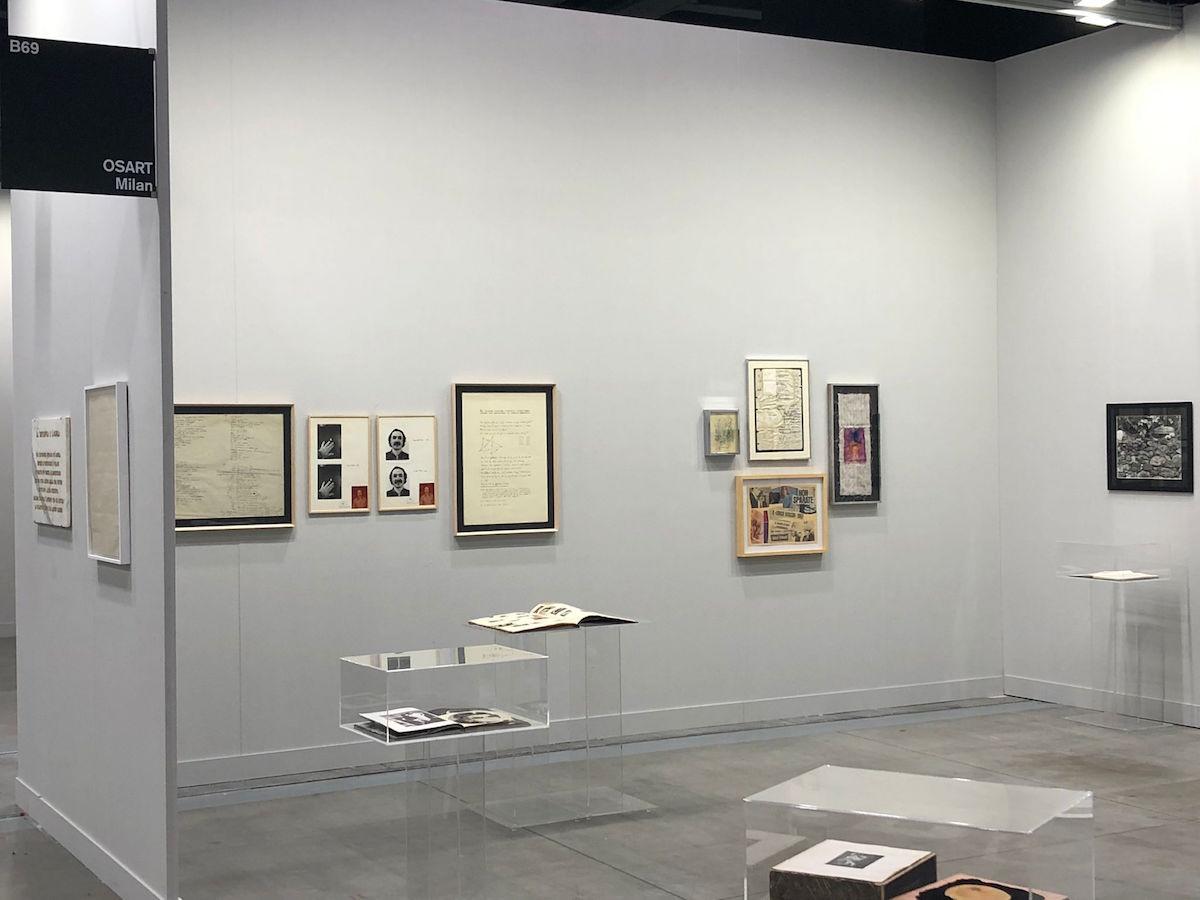 Osart Gallery, I denti del drago, Installation view, miart 2021
