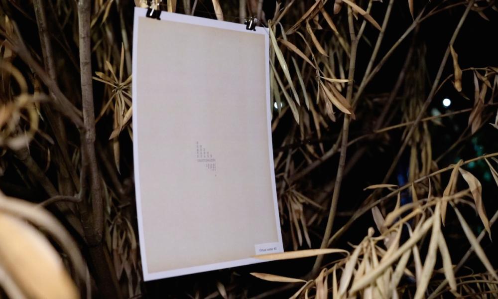 visual HAIKU|OLIVETTI poems di Francesco Thérèse e Hiromi Suzuki